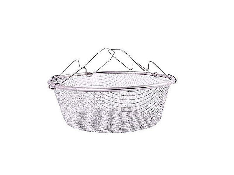 Stainless Steel Strainer - Silver