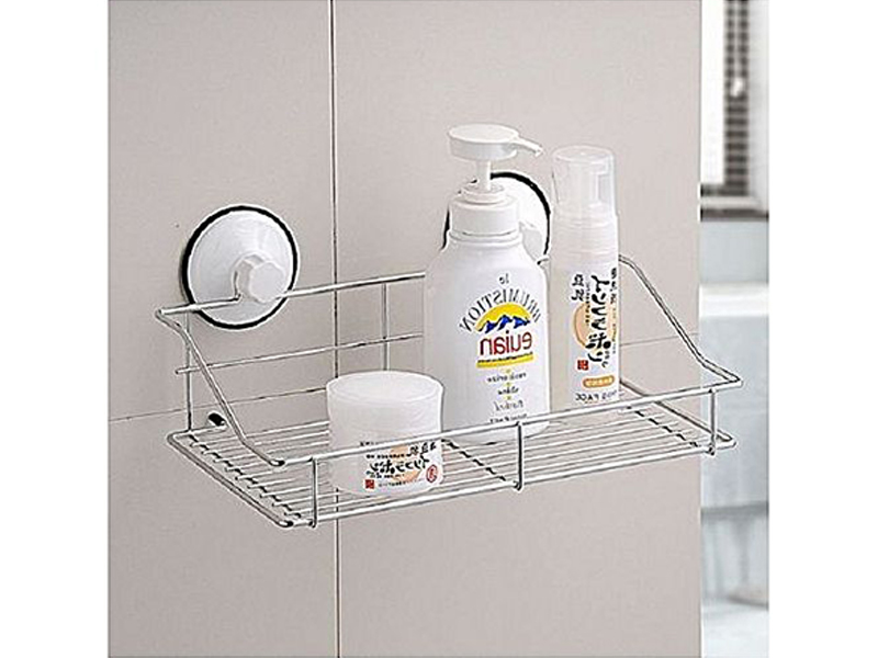 Bath And Kitchen Storage Basket Shelf Organizer