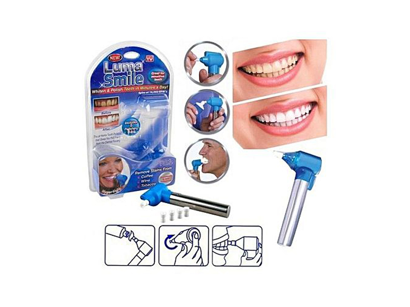 Luma Smile White and Polish Teeth in Minutes A day – Blue