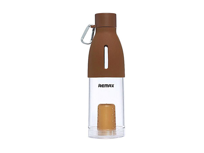 REMAX Travel Pot With Filter 490ML - Brown
