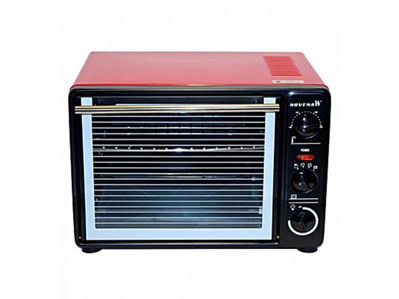 Novena 22L Electric Grill Oven - Red