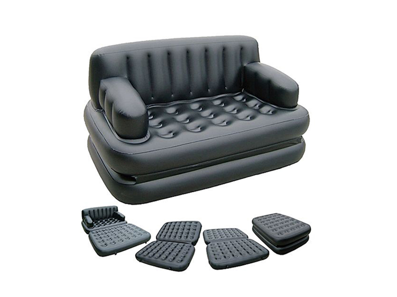 Jilong 5 in 1 Sofa Bed with Pump- Black