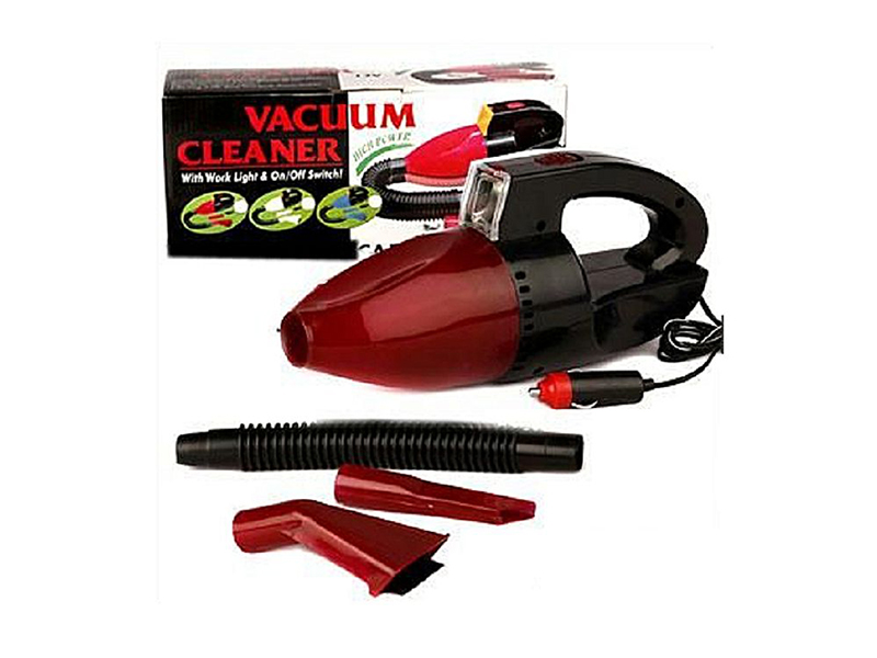 Handheld Car Vacuum Cleaner with LED Light
