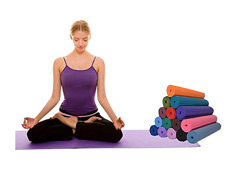 Yoga and Exercise Mat -Multicolor