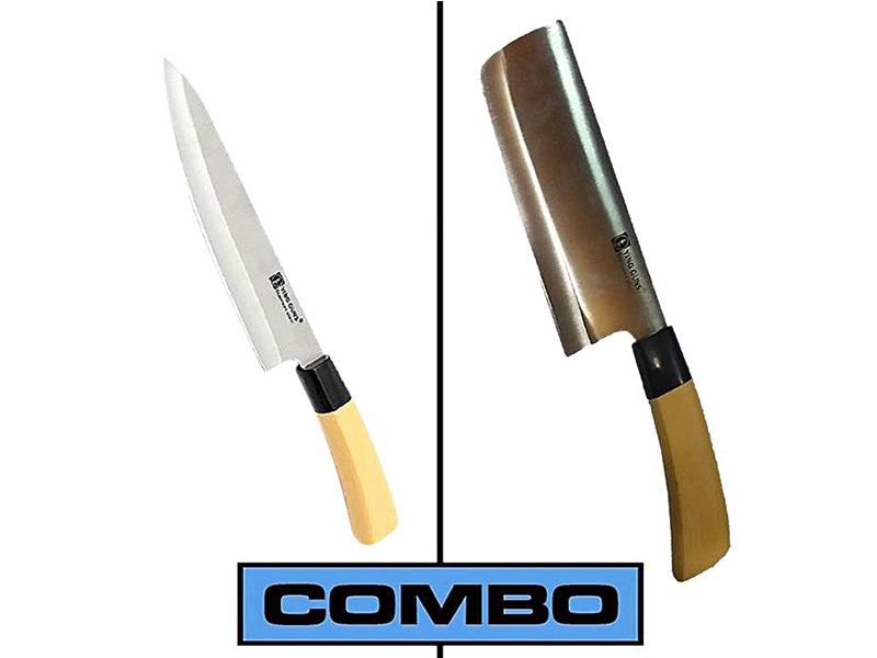 Kitchen Knife and Meat Cutting Knife Combo