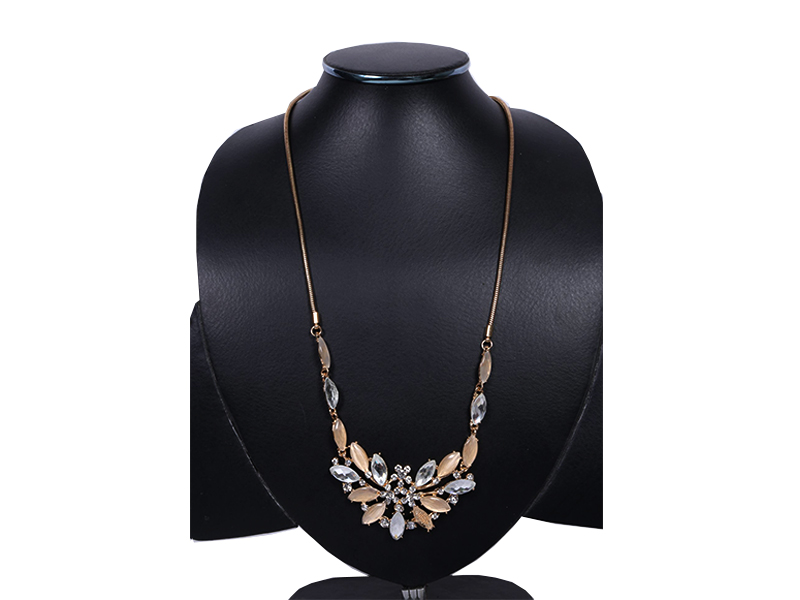 Golden Chain Imitation Necklace For Women
