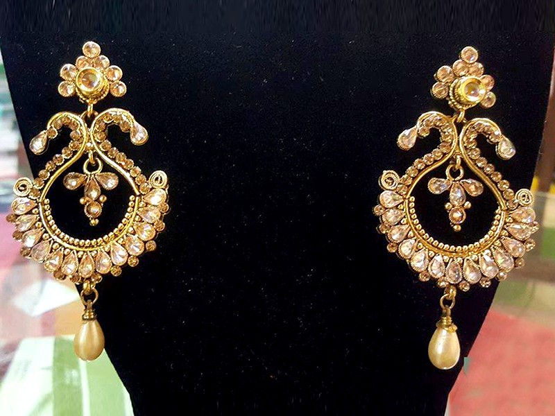 Golden Party  Imitation Earring