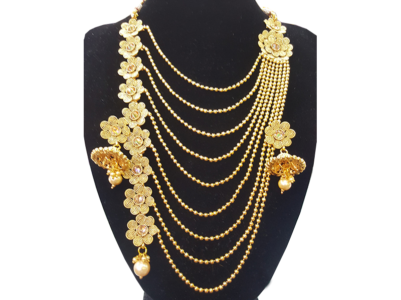 Gold Plated Imitation Jewelry Set For Women-01