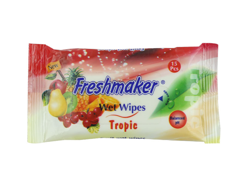 Freshmaker Baby Wet Wipes 15 Ps-Tropic