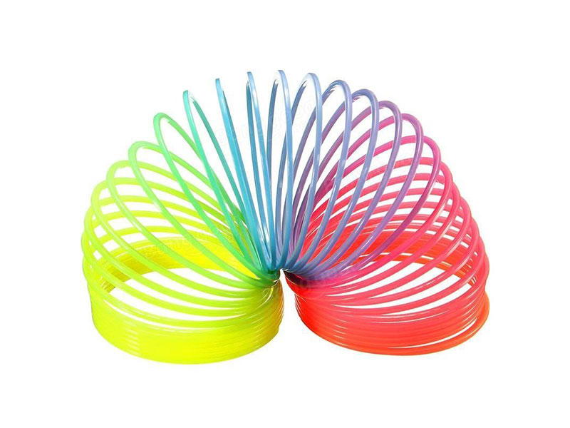 Spring Magic Coil Game Decoration and Play - Rainbow