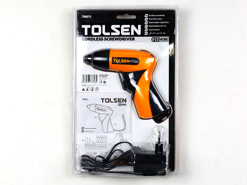 Tolsen Cordless Drill With Screwdriver