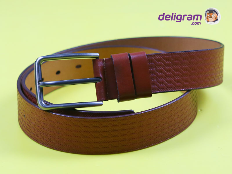 CL Brown Stylish Leather Belt for men 6-B