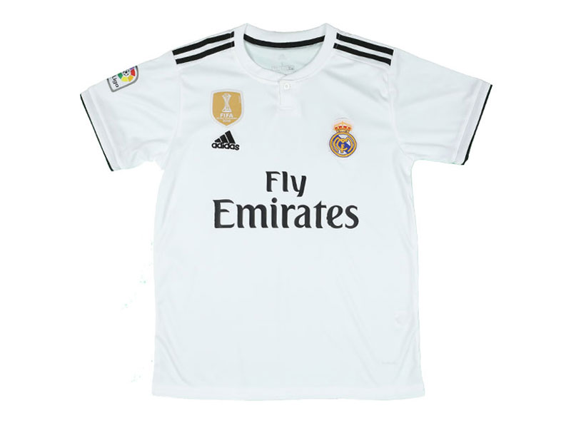Real Madrid Jersey - Home (China Assemled)