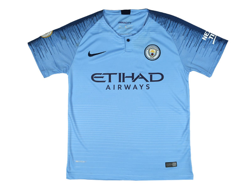 Manchester City Jersey - Home (China Assembled)