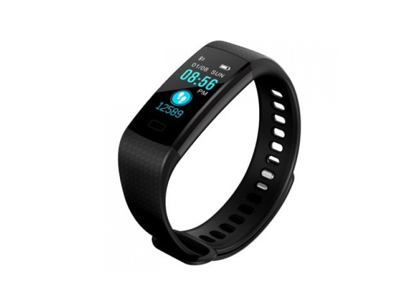 Y5 Smart Band Heart Rate Monitor Fitness Bracelet Color Screen Blood Pressure