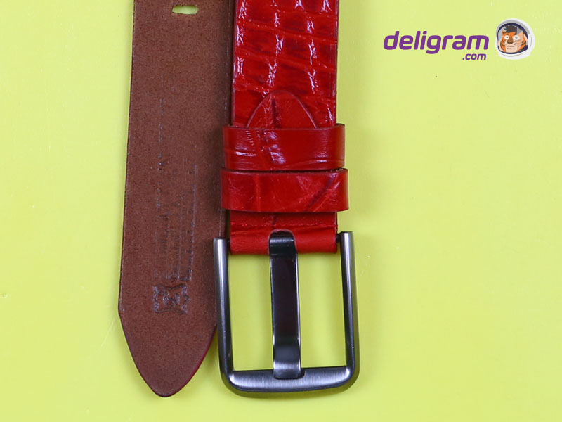 CL Red Stylish Leather Belt for men 5-B