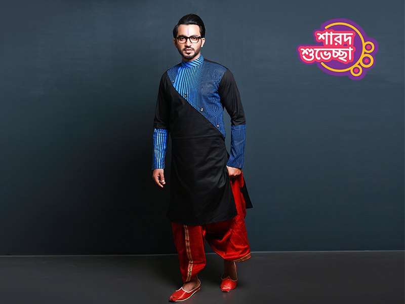 Stylish Men's Punjabi By Swapon's World-SW355P