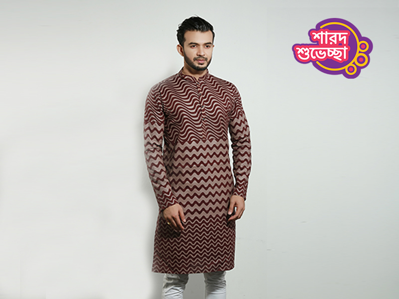 Stylish Men's Punjabi By Swapon's World-SW343P