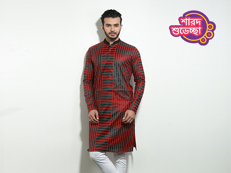 Stylish Men's Punjabi By Swapon's World-SW341P