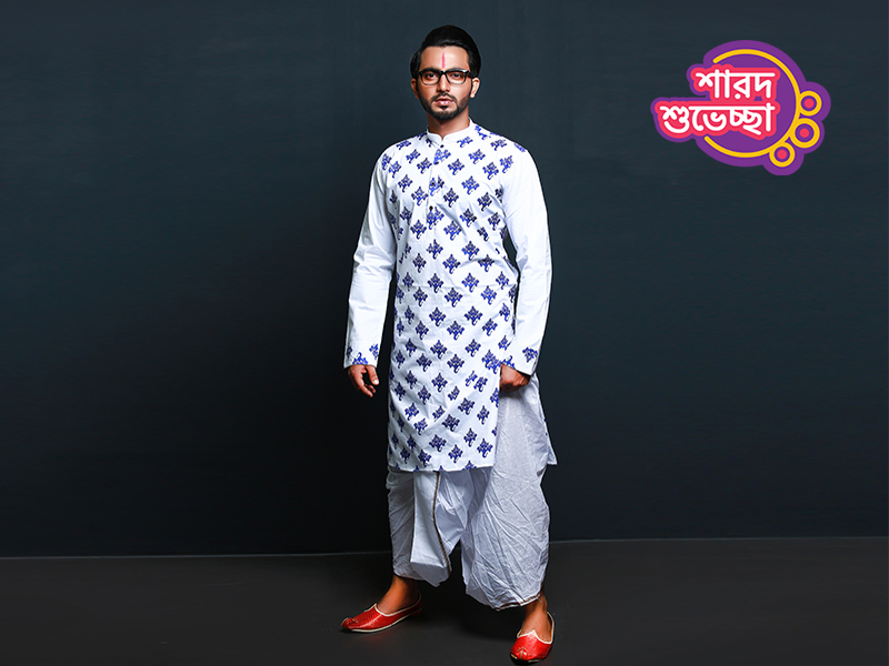 Stylish Men's Punjabi By Swapon's World-SW347P