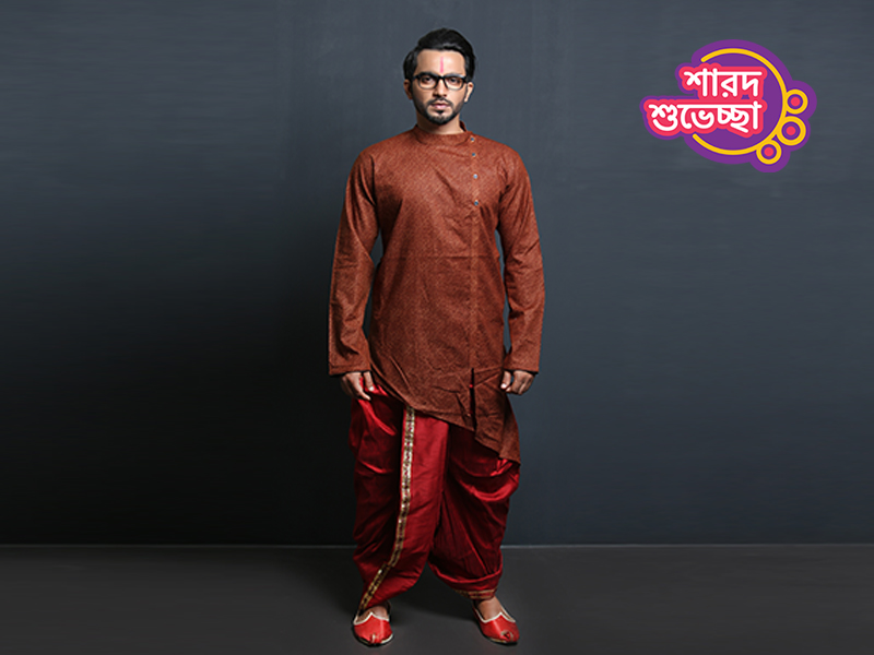 Stylish Men's Punjabi By Swapon's World-SW366P