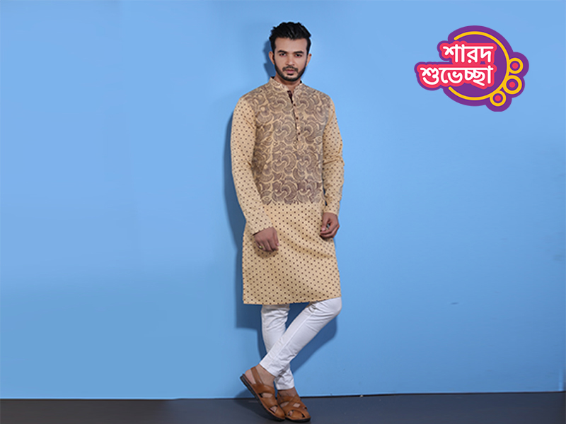 Stylish Men's Punjabi By Swapon's World-SW340P