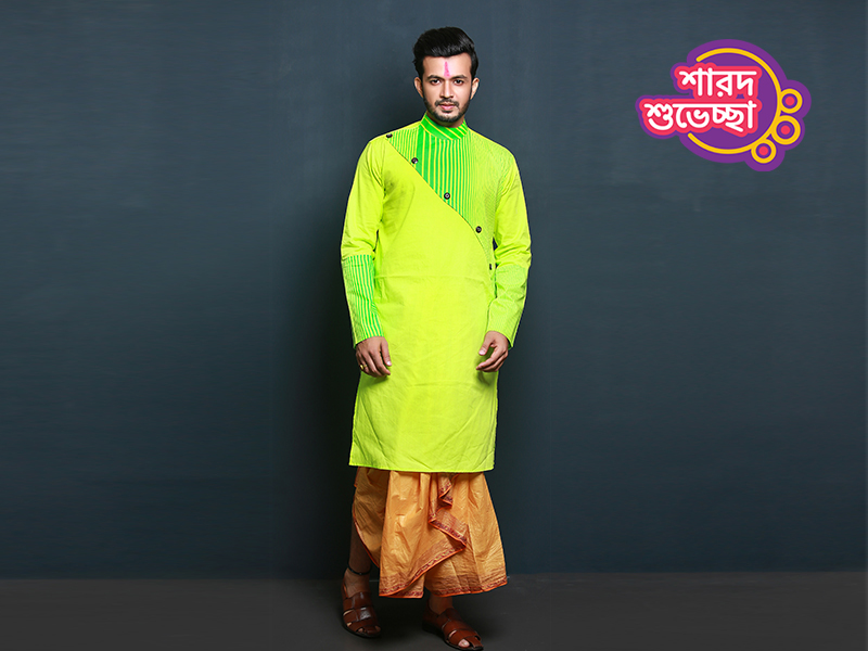 Stylish Men's Punjabi By Swapon's World-SW356P