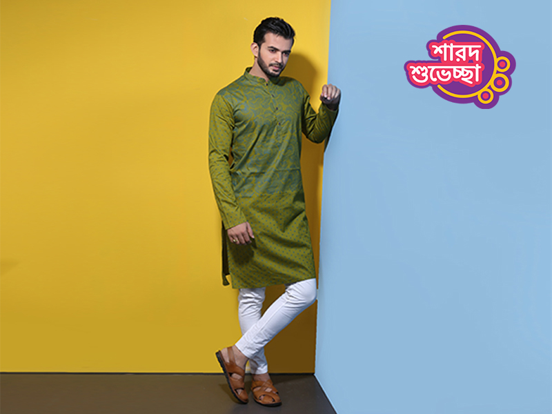 Stylish Men's Punjabi By Swapon's World-SW339P