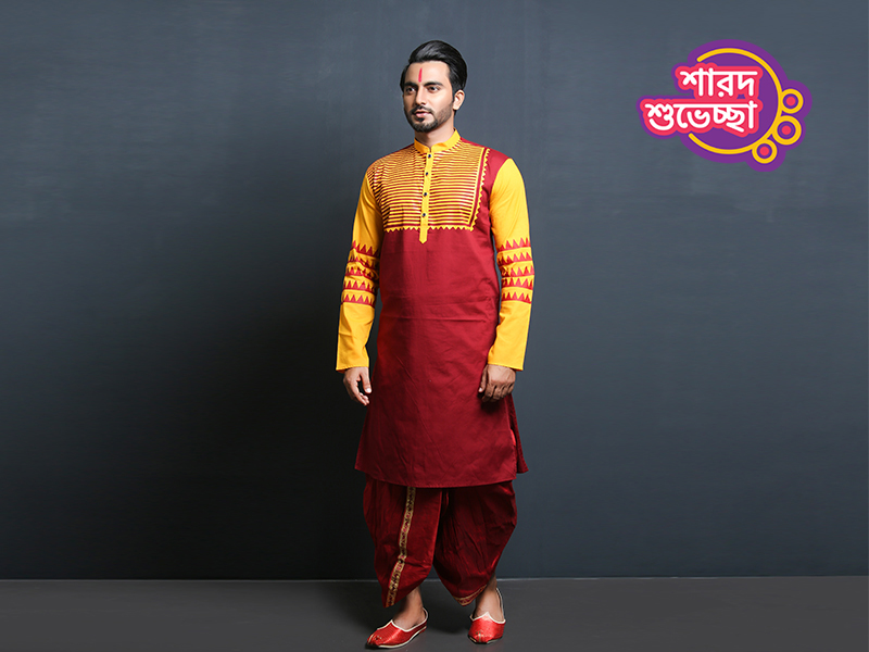 Stylish Men's Punjabi By Swapon's World-SW345P
