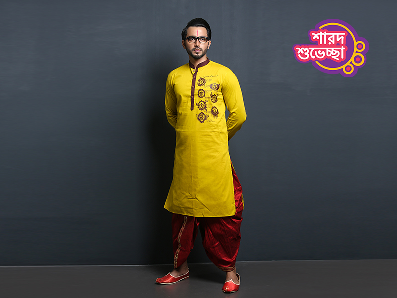 Stylish Men's Punjabi By Swapon's World-SW350P