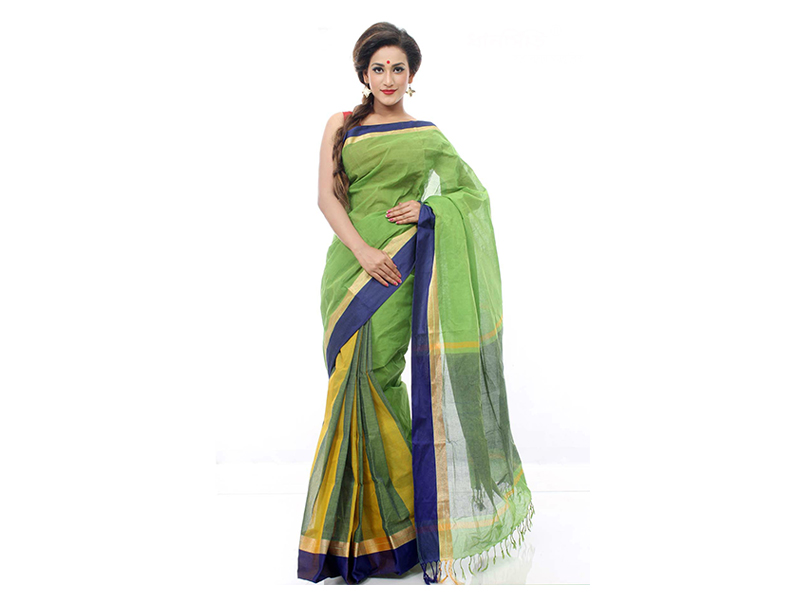 Dhanshiri Tat cotton Saree-DS-61 A