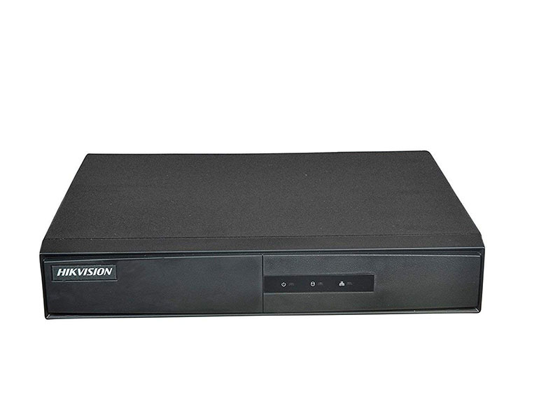 Hikvision Upgraded DS-7204HQHI-K1 4CH Turbo HD Metal DVR (Metal Body)
