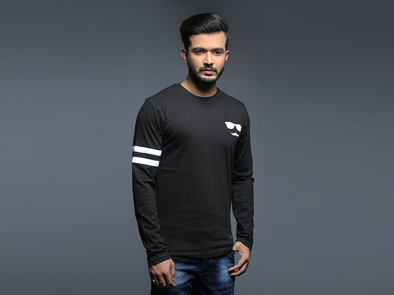 Special Men's Full Sleeve T-Shirt By Swapon's World-SW3439T