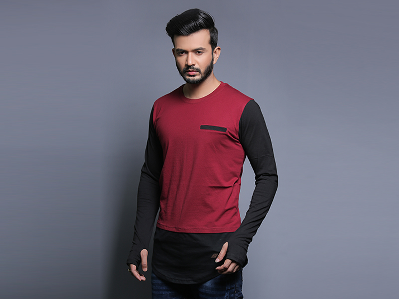 Special Men's Full Sleeve T-Shirt By Swapon's World-SW3455T