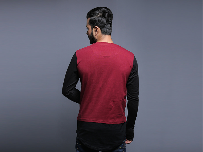 Special Men's Full Sleeve T-Shirt By Swapon's World-SW3455T (M)
