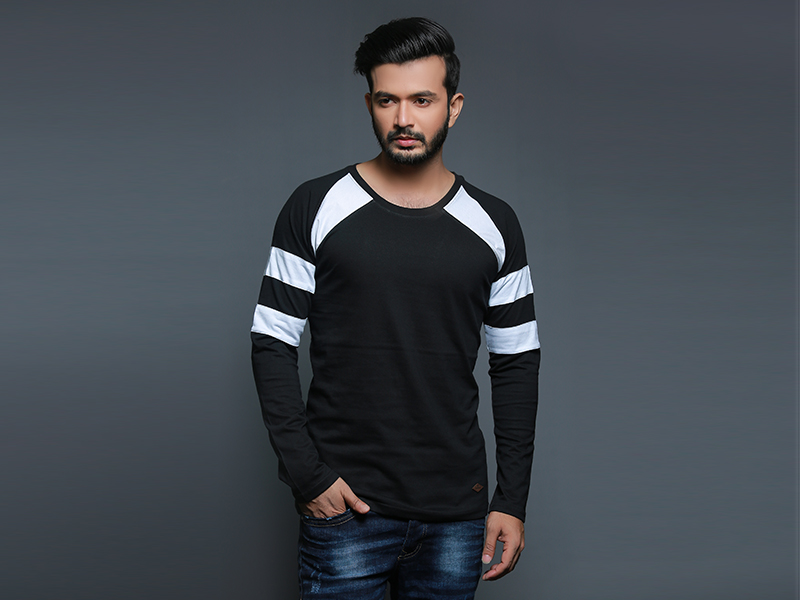 Special Men's Full Sleeve T-Shirt By Swapon's World-SW3456T