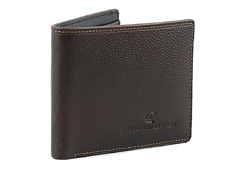 CL Stylish Chocolate Leather Wallet For Men