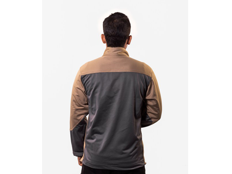 Argo Tan – Brown Soft Shell Jacket (S)