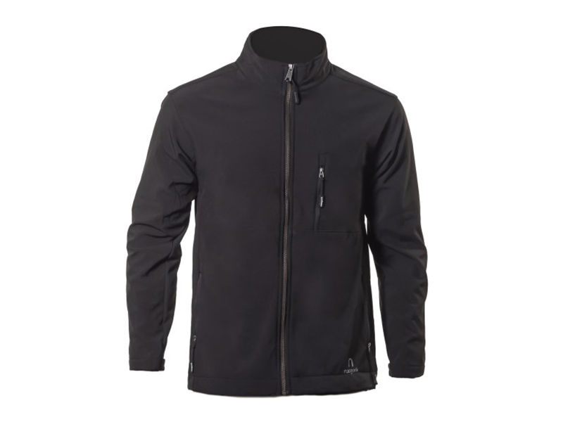 Krypto Black Soft Shell Jacket