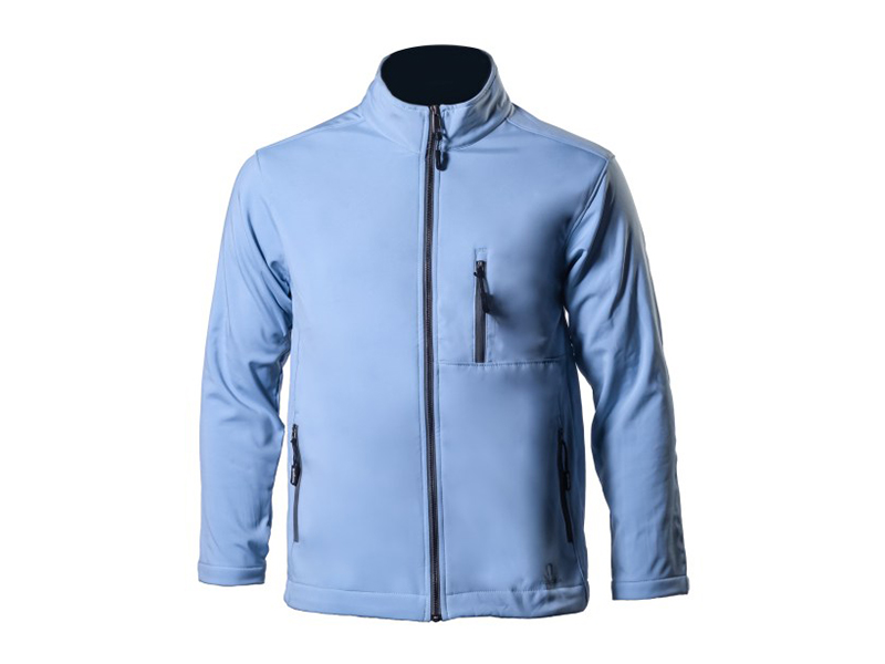 Krypto Baby Blue Soft Shell Jacket