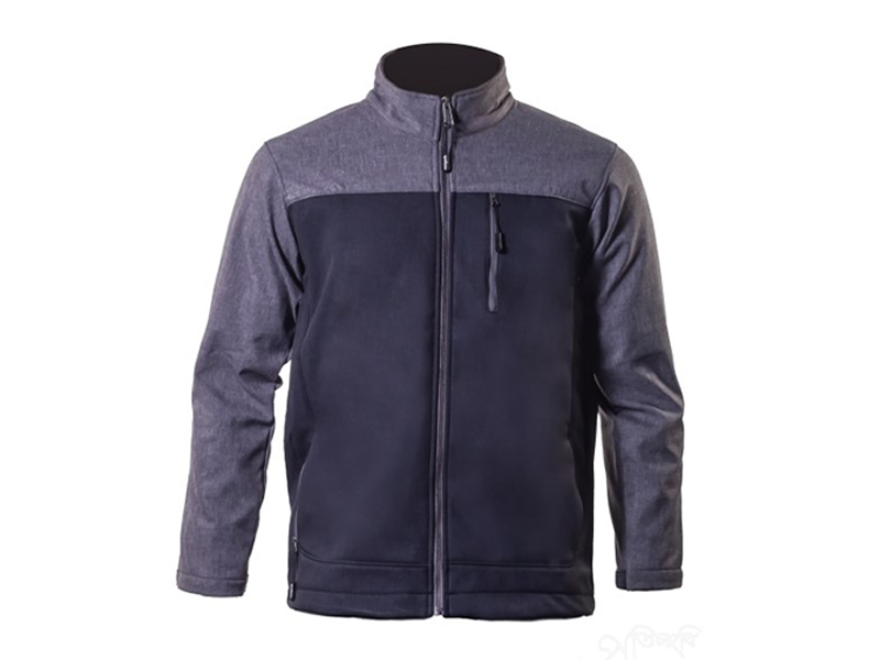 Rado Dark Heather Grey Soft Shell Jacket