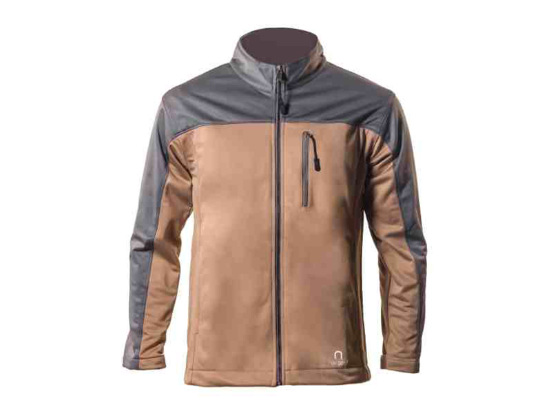 Xen Brown – Gray Soft Shell Jacket