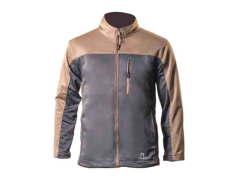 Xen Grey – Brown Soft Shell Jacket