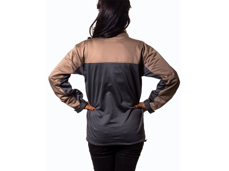 Xen Grey – Brown Soft Shell Jacket (S)