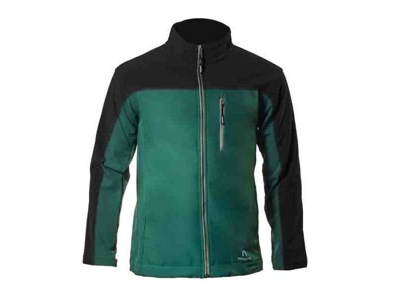 Xen Jade-Black Soft Shell Jacket