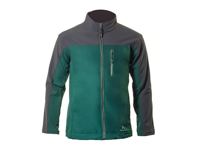 Xen Jade-Grey Soft Shell Jacket