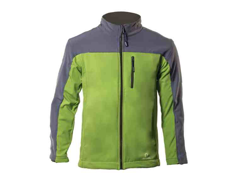Xen Lime-Grey Soft Shell Jacket