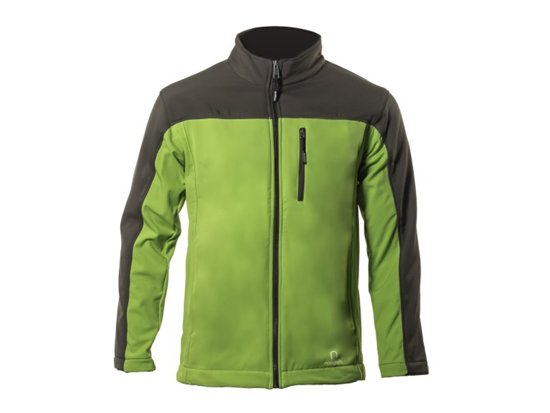 Xen Lime-Umber Soft Shell Jacket
