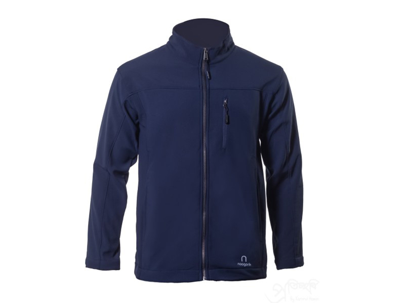 Xen Navy Blue Soft Shell Jacket
