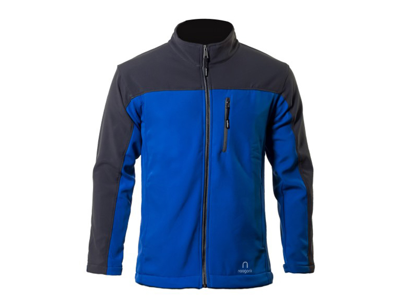 Xen Ultramarine-Black Soft Shell Jacket